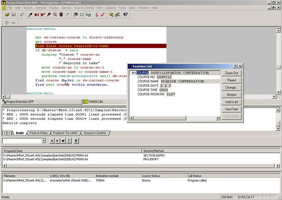 GCOS8 Net Express